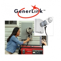 Connecting a Portable Generator is now  Safe and Easy with GenerLink™