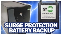 Image of Surge Protection Battery Backup
